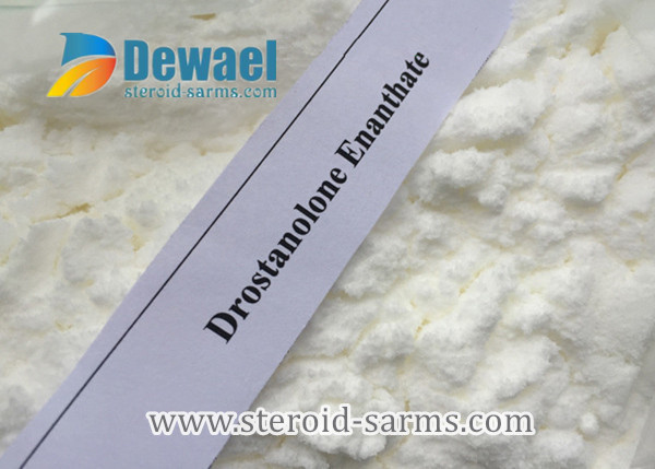Drostanolone Enanthate Steroid Hormone Powder